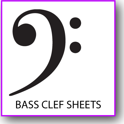 Printable Bass Clef Staff Paper